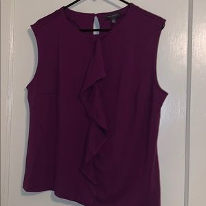 Limited Purple Sleeveless Blouse XL